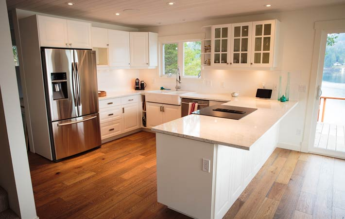Panorama Place Residence - Custom kitchen renovations